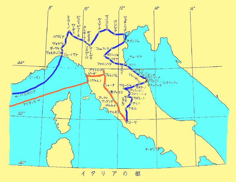 地図(イタリア) - sea